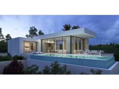 Off plan moderne vrijstaande villa (O.B.)